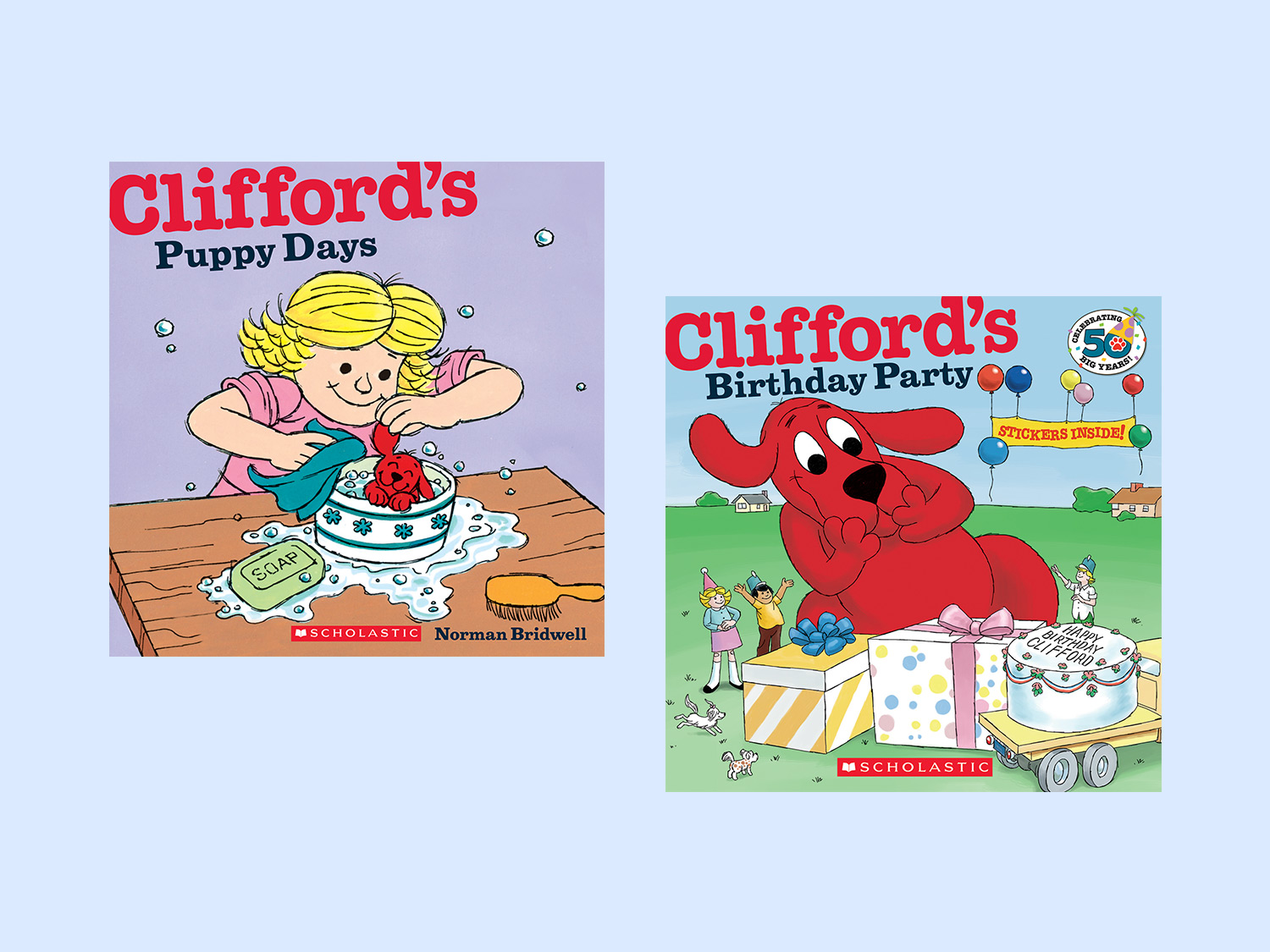 Clifford The Big Red Dog Series