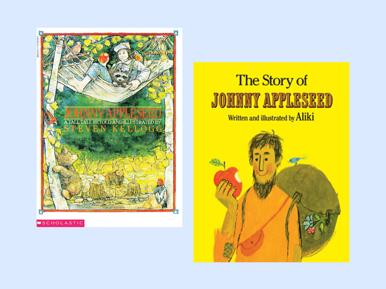 Books About Johnny Appleseed