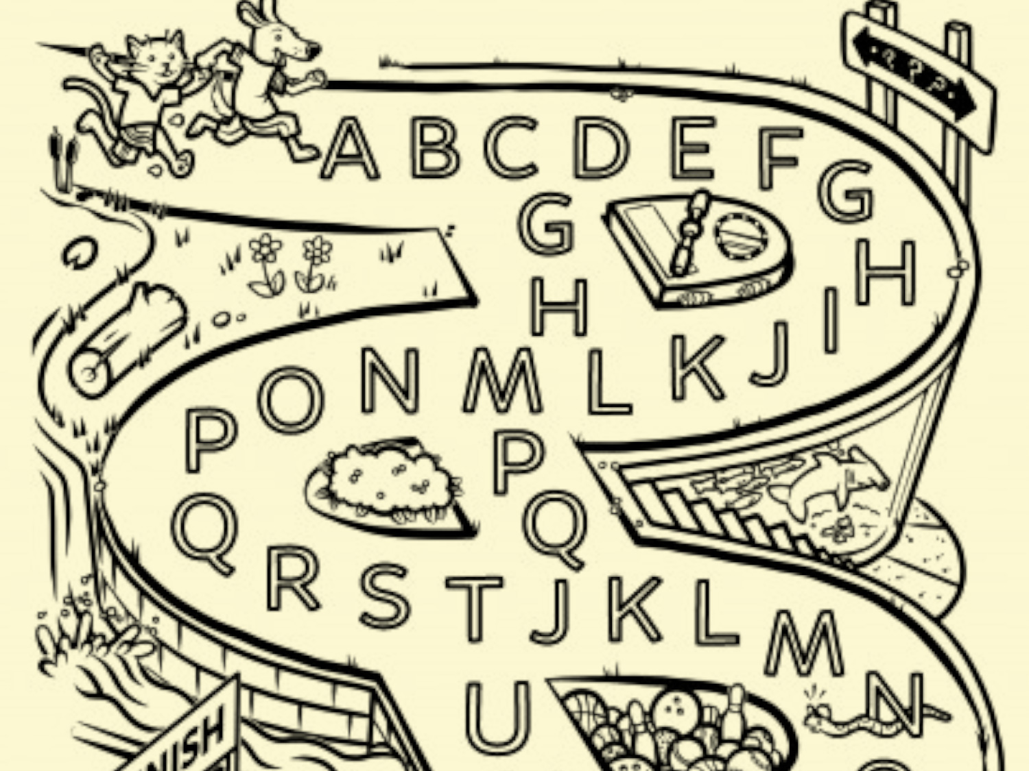 Daftar Harga Maze Alphabet And Worksheets On Termurah