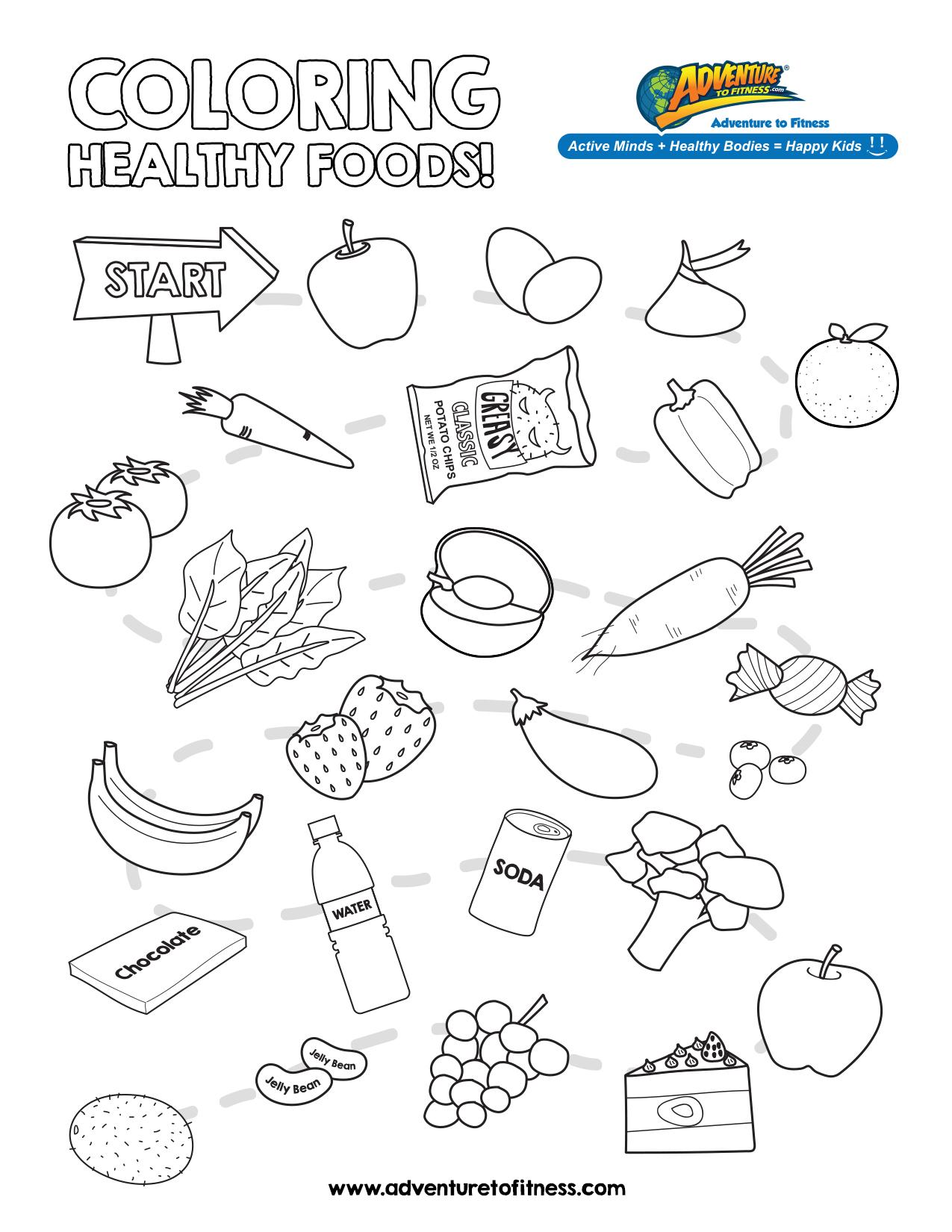 Printable Cooking Worksheets For Kids