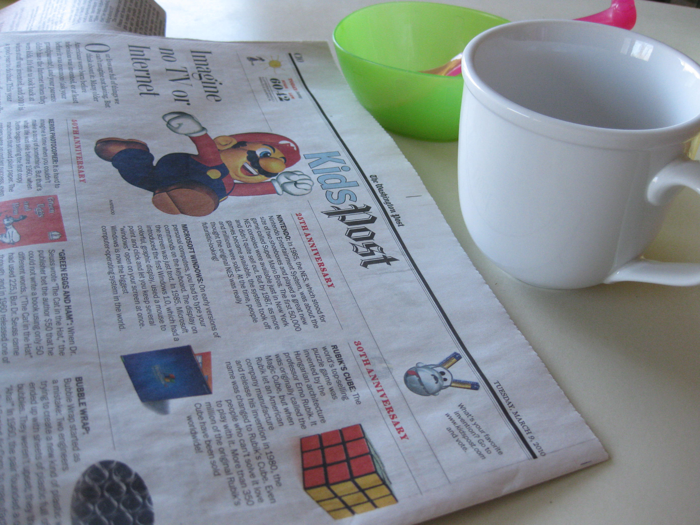 5 Reasons To Read The Newspaper With Your Kids Today And