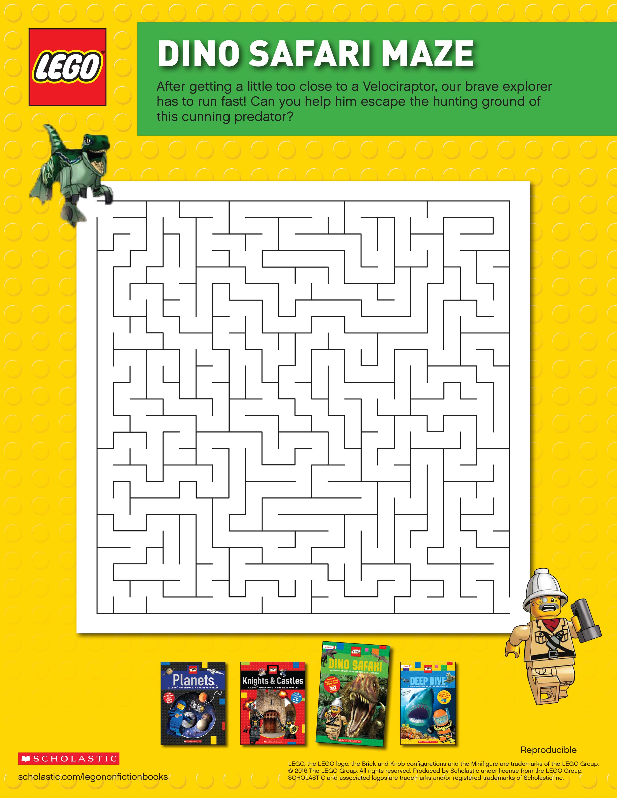 Lego Dino Safari Maze