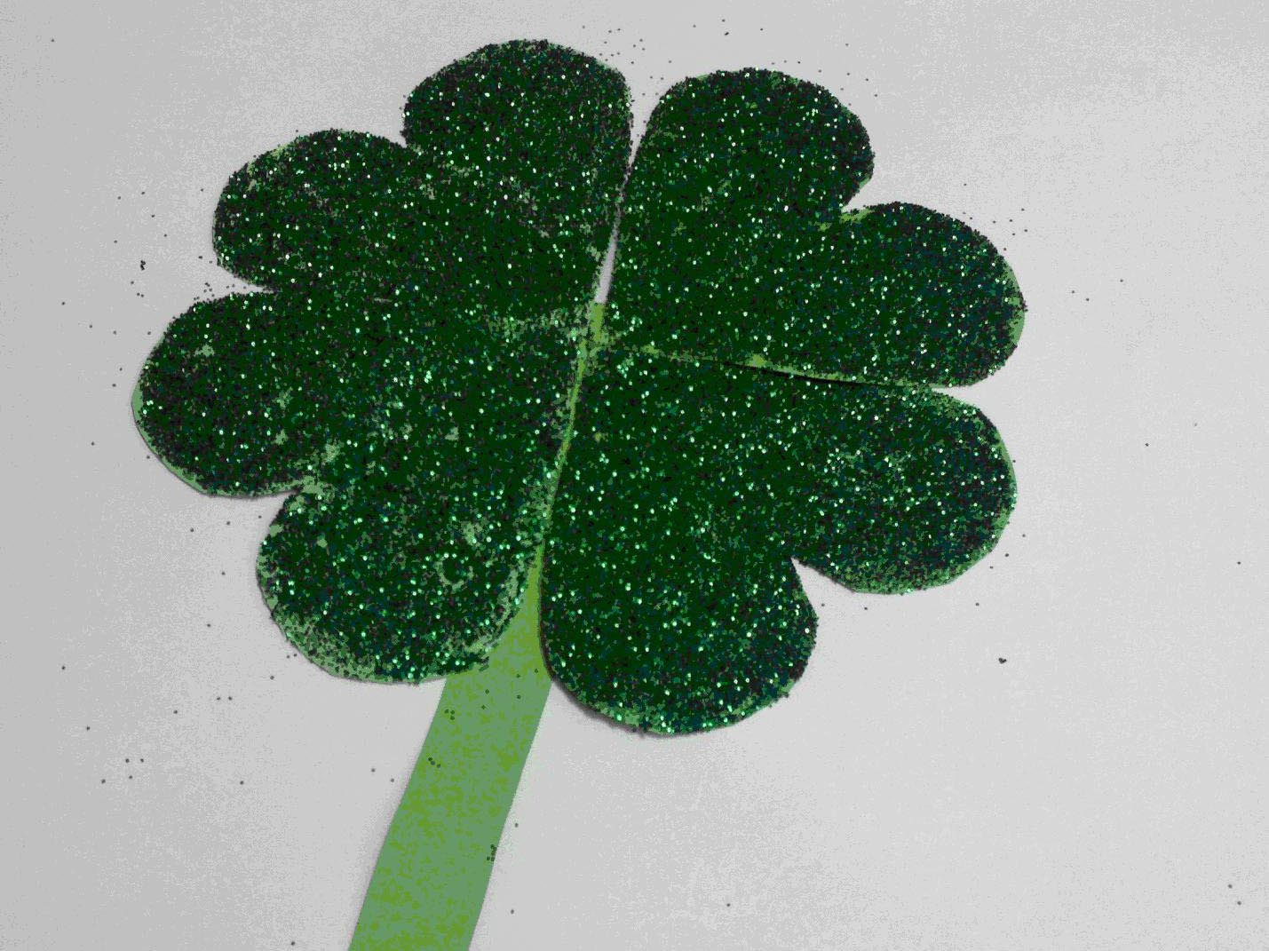 St Patrick S Day Four Leaf Clover Craft