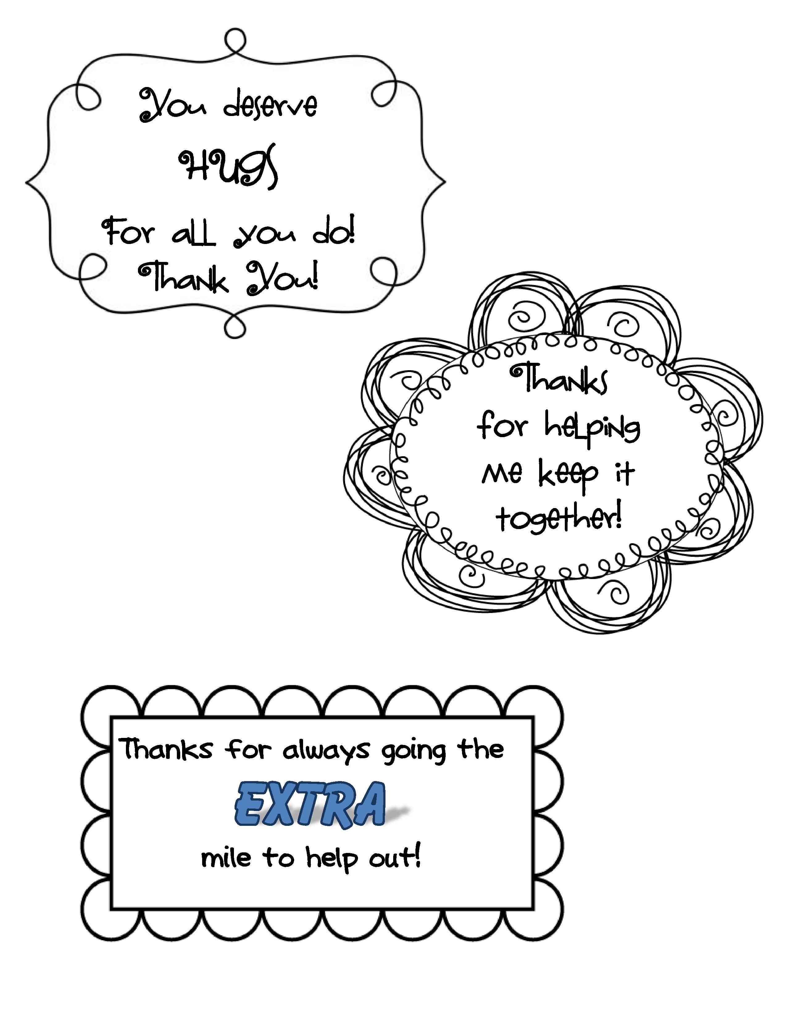 Quick And Easy Thank You Ts For Classroom Volunteers