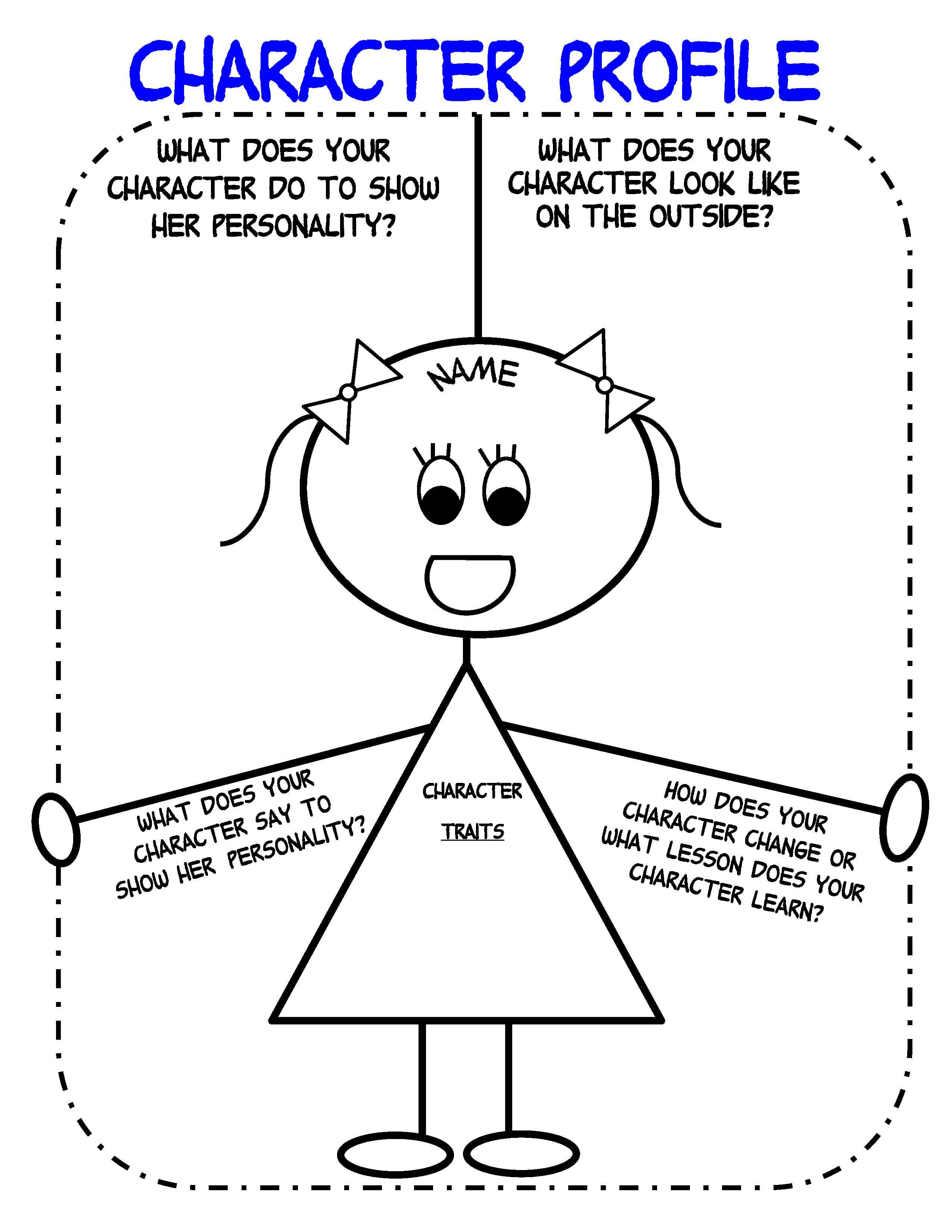 Narrative Writing Graphic Organizer First Grade
