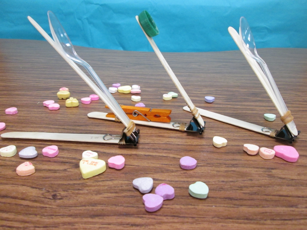 A Valentine Stem Challenge Catapults And Candy