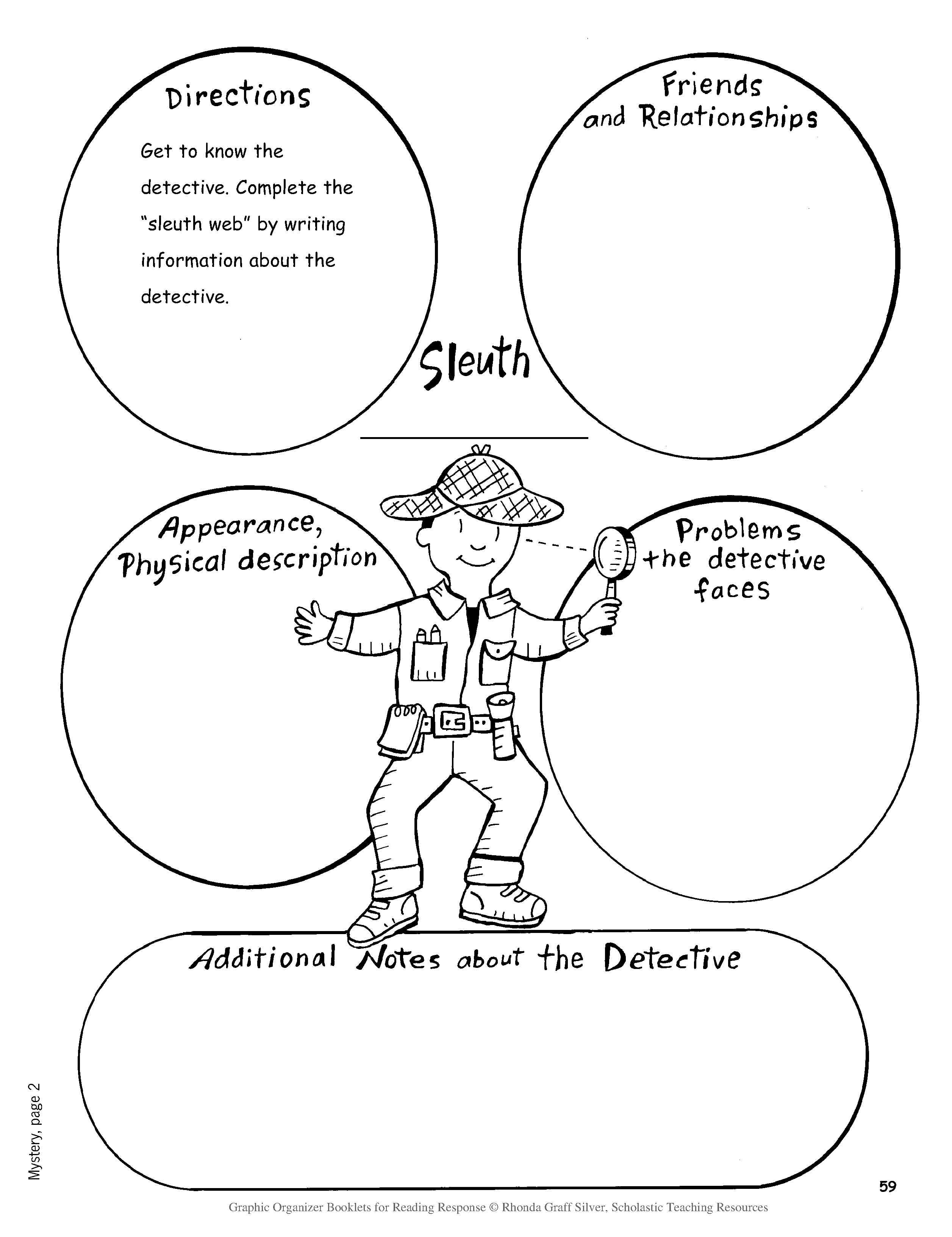 Litature Repsonse Genre Worksheet