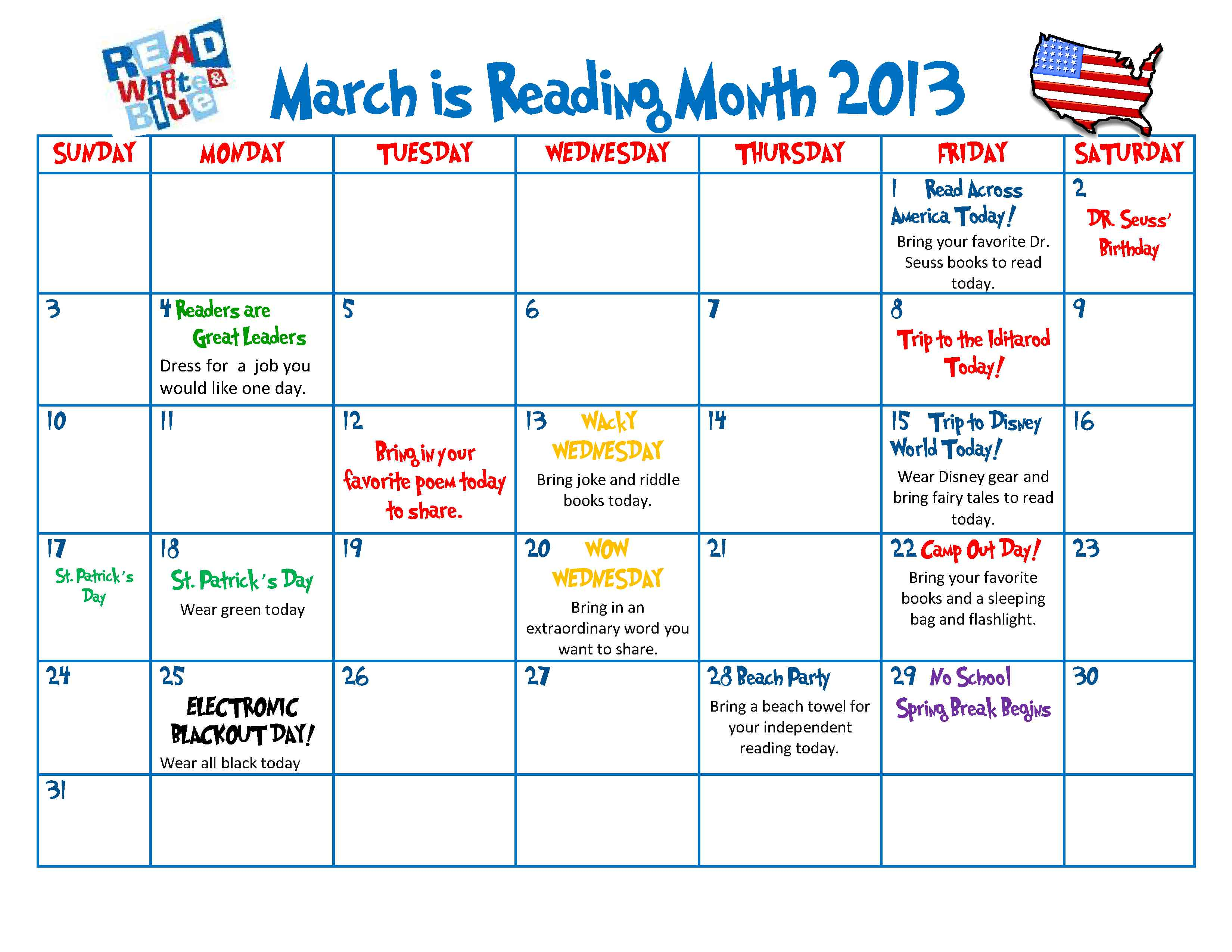 Celebrate The Joy Of Reading All Month Long