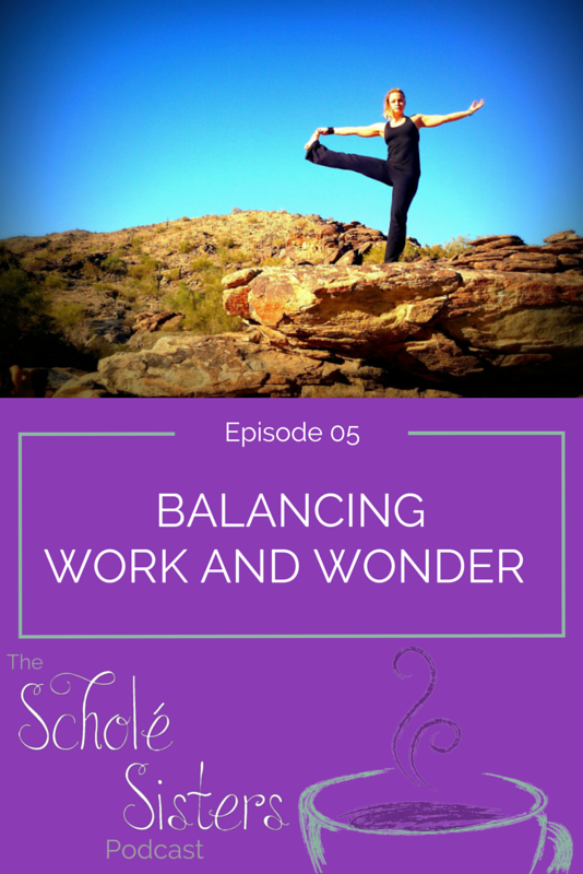 Balancing work with wonder: how do both fit together? What happens when our students seem to have lost the wonder? What if WE seem to have lost the wonder?