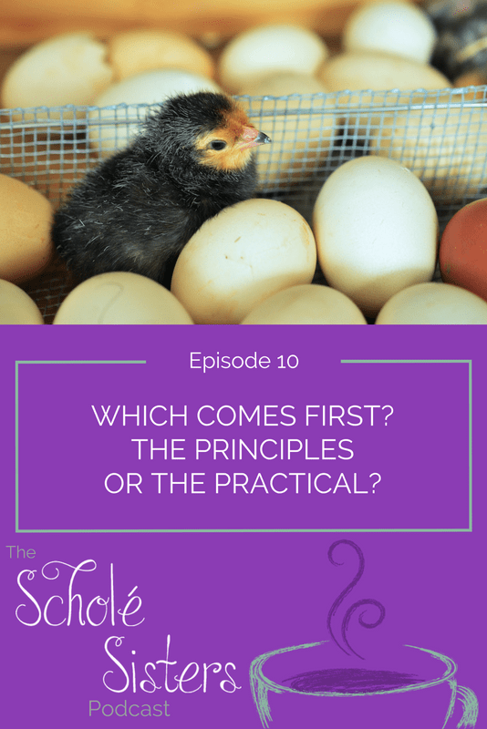 Today's show is our version of the which-came-first-the-chicken-or-the-egg dilemma. In this case, though, it's principles or practices. Come listen!