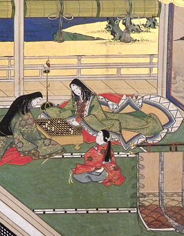 Tale of Genji - detail second screen