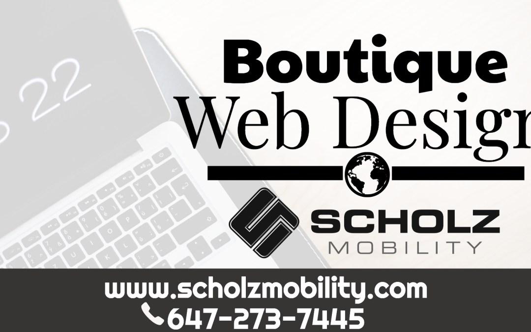 Boutique Web Design
