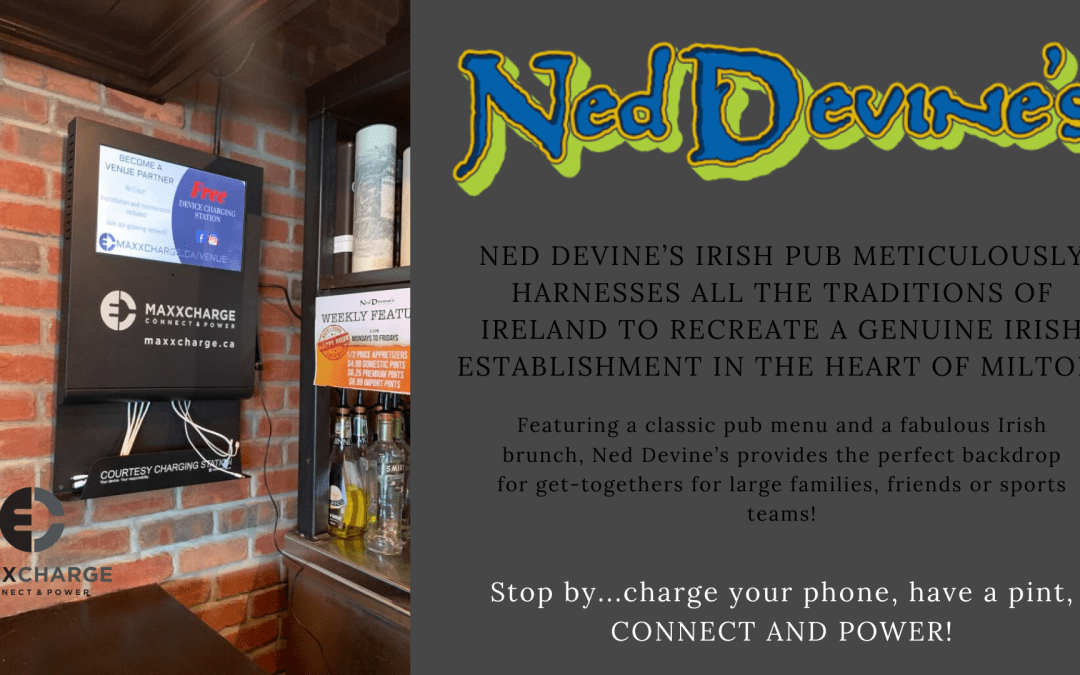 Ned Devine's Milton joins Maxxcharge!