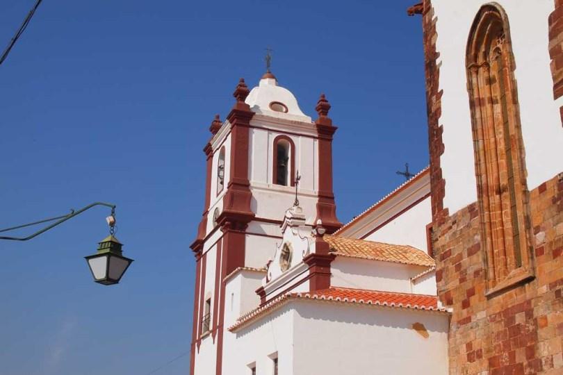 Kirche in Silves, Algarve Portugal