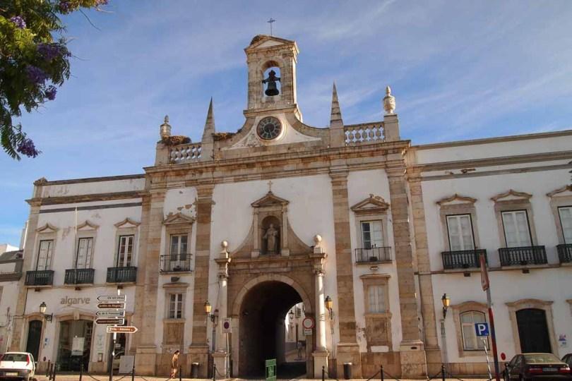 Arco da Vila in Faro - Portugal Algarve