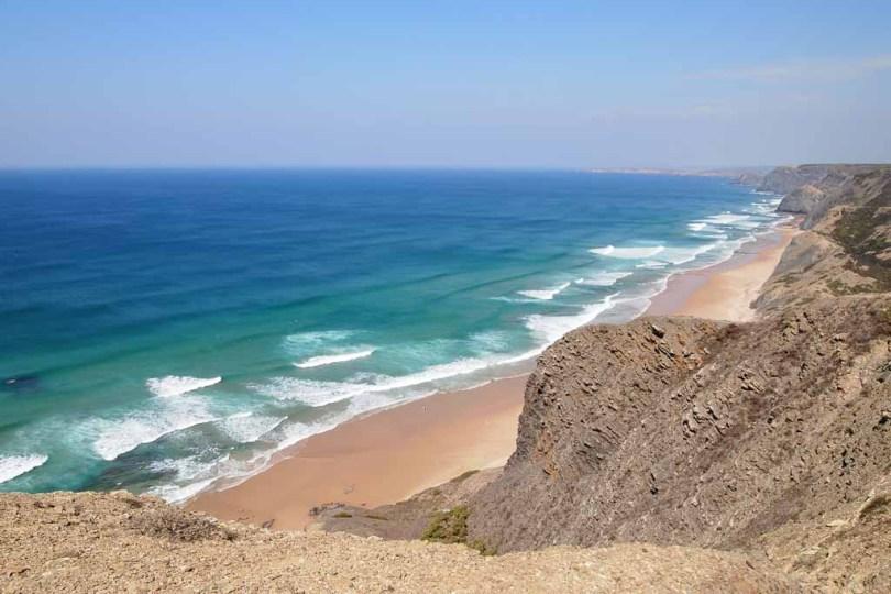Praia de Castale am Atlantik - Portugal