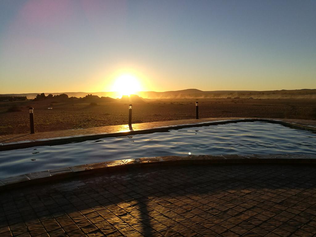 Foto: Lodge im Desert Quiver Camp - Namibia