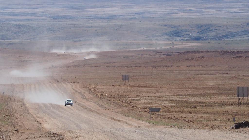 Foto: Endlose Weite in Namibia