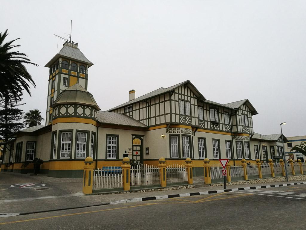 Foto: Historisches Gebäude in Swakobmund
