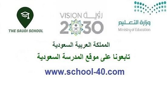 بيان بأسماء معلمات المواد والمراجعات الاول المتوسط الفصل الاول 1439 هـ / 2018 م – المدرسة السعودية
