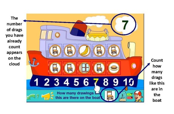 The boat at Come to play with Pipo