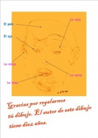 Spanish Body Parts - The face