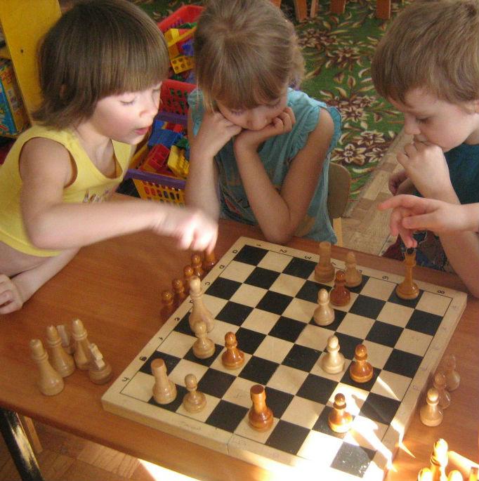 Кружок шахмат для детей