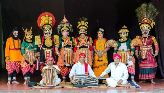 Image result for dashavatara yakshagana