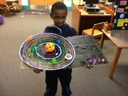 School District 149 - NBLA 3rd Grade Solar System Projects