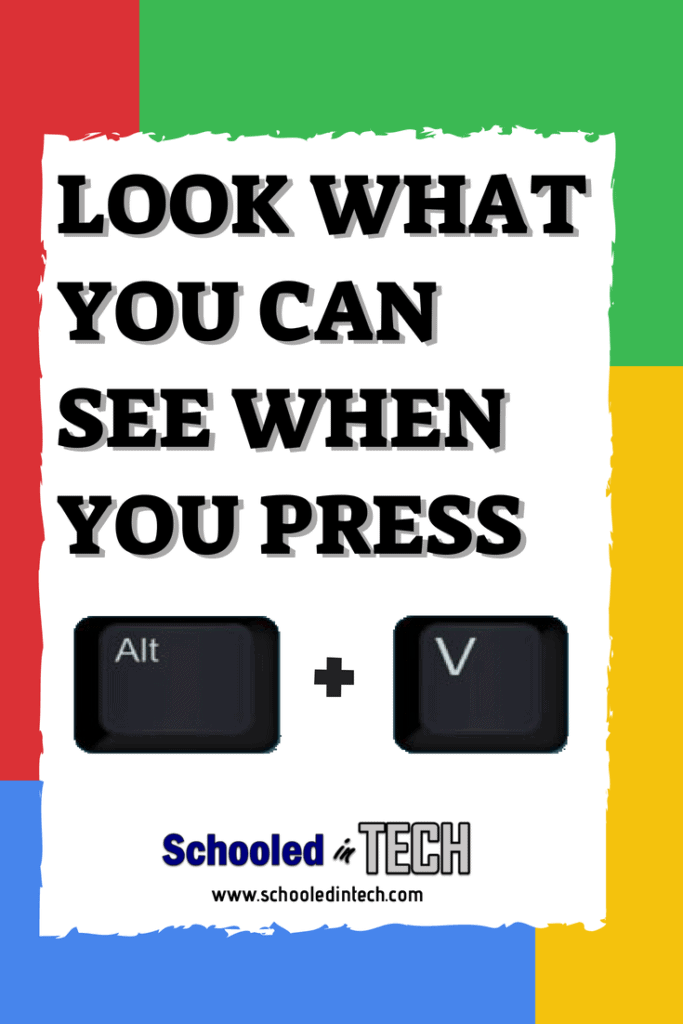 Easily Show Chromebook OS Version & More with Alt + V | Schooled in Tech