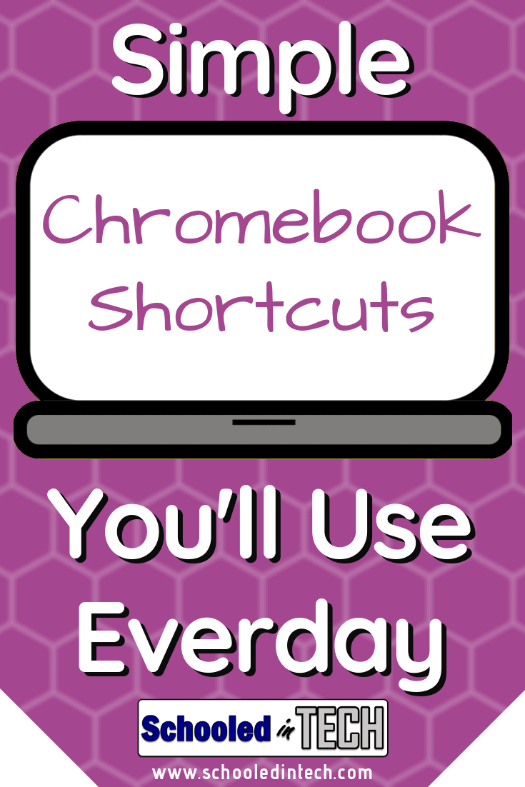 Chromebook Shortcuts You'll Use Everyday   Schooled in Tech