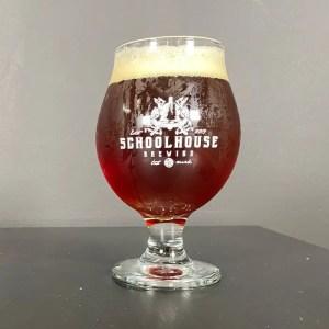 Tripel Crown Beer on Bar Top