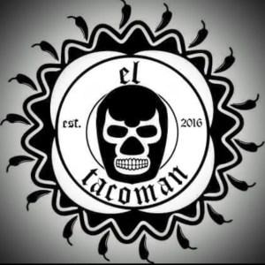 El Tacoman Food Truck luchador face
