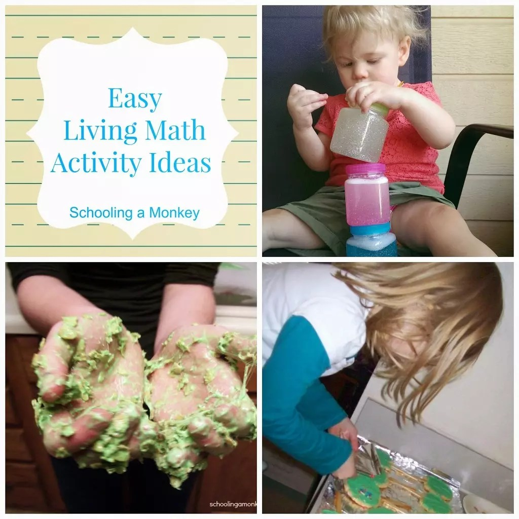 How We Encourage A Love Of Learning Easy Living Math Activity Ideas For Kids Of All Ages