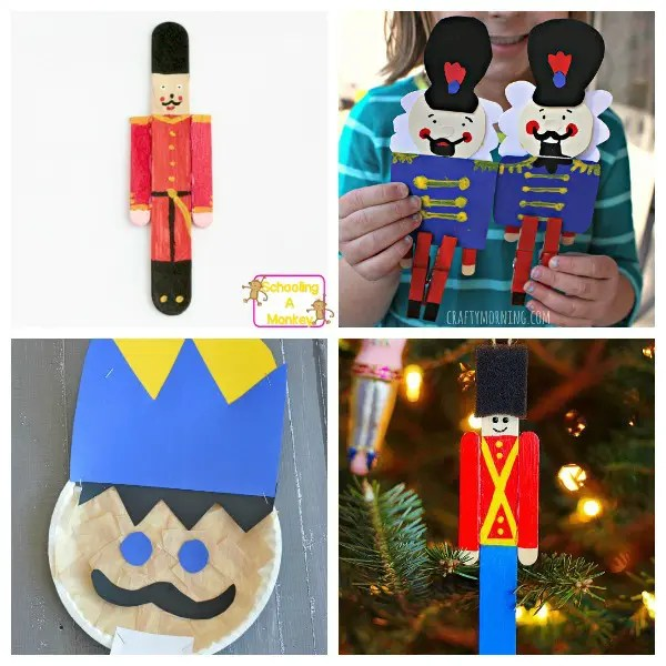 Magical And Fun Nutcracker Crafts For Kids Of All Ages