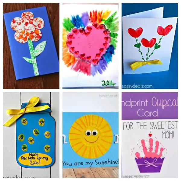 21 Creative and Cute Kid-Made Mother's Day Cards