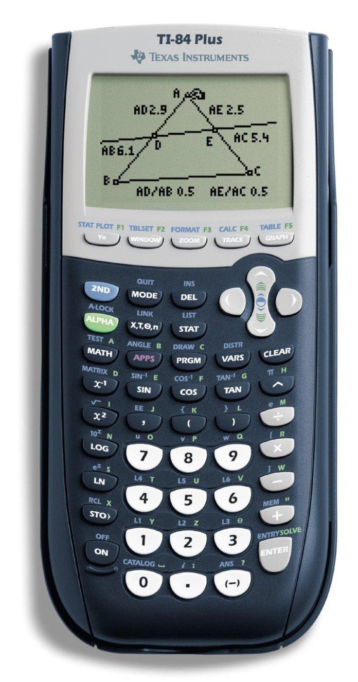 Texas Instruments Ti 84 Plus Graphing Calculator Schoolmart