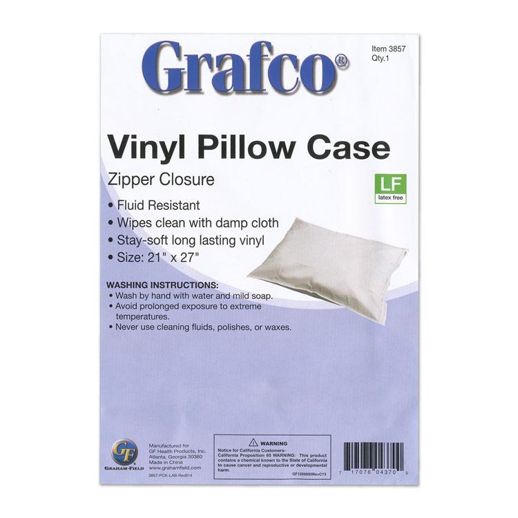 reusable plastic pillow covers zipper closure each 22540