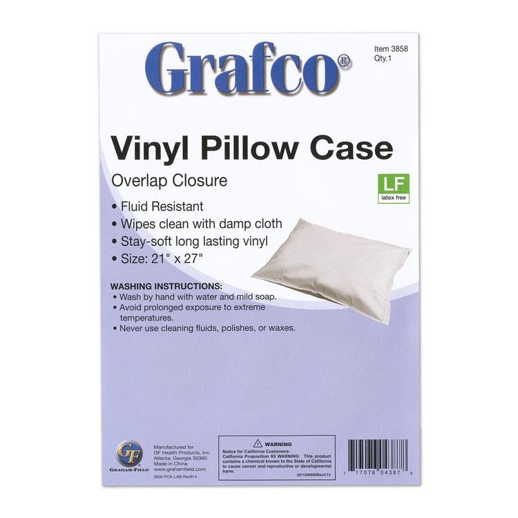 reusable plastic pillow covers overlap closure each 2254