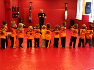 Little Tigers taught by world Champ Ryan Davies.