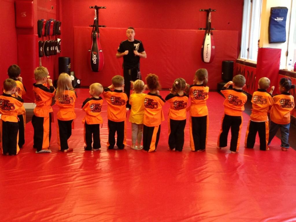 Tiny Tigers taught by world Champ Ryan Davies.