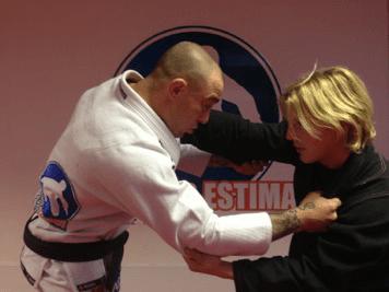 Sensei Neil Simkin With Wayne Stokes - Brazillian Jiu Jitsu (BJJ)