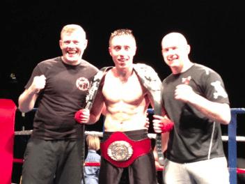 Ryan Davies wins the British Title.