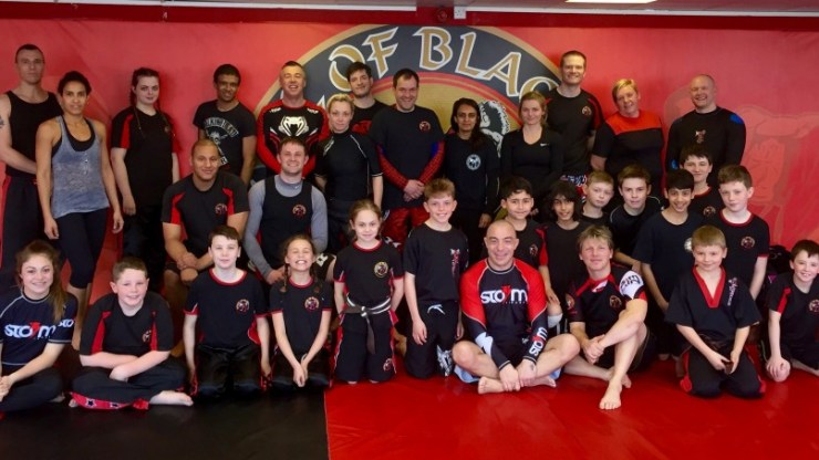 Neil Simkin Brazilian Jiu Jitsu (BJJ) Seminar at Oldbury Headquarters.