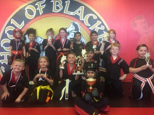 Kickboxing Tournament attended by our Junior Fighters.