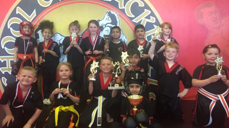 KickBoxing Tournament at Oldbury HQ