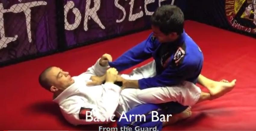 Neil Simkin BBJ Black Belt – Basic Arm Bar