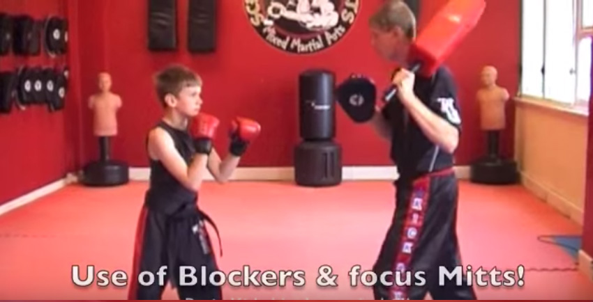 Kids Martial Arts Drill