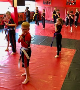 Character Building with Kids Martial arts