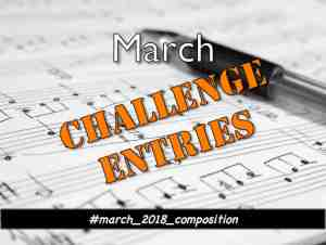 Your Music from March's Composition Challenge